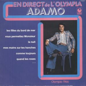 Adamo En Direct De L Olympia